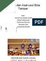 Gerko Volleyball (Sejarah Asal Usul Bola Tampar)
