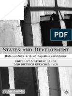 Lange, & Rueschemeyer_2005_States and Development Historical Antecedents of Stagnation and Advance