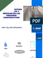 Presentacion Uso de Aditivos Para Concreto y Ventajas en Los p.c. Aci Uni