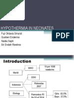 Hypothermia in Neonates