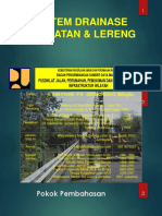 Modul 6-Sistem Drainase Jembatan Dan Lereng, 230 Hal