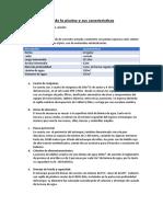 Descripción de La Piscina y Sus Características