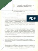 Acuerdo Que Establece El Proceso Para La Atenci n de Una Queja o Denuncia y Protocolo