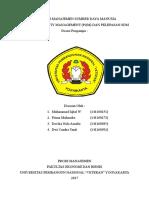Manajemen PQM
