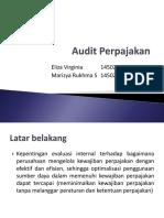 Presentasi Audit Perpajakan