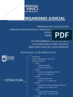 Presentacion Ley Del Organismo Judicial