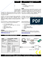 Manual PC Link RS232 QRS232