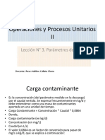 Lección N 3 Parámetros de Diseño