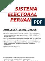 El Sistema Electoral Peruano