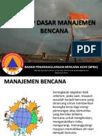 Manajemen Bencana BPBA
