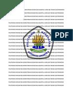 Politeknik Kesehatan Kementrian Kesehatan Jakarta II Jurusan Teknik Elektromedik