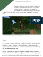 Como Fazer Itens Em Minecraft