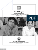 The Cpa Program Icfai