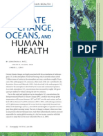 CLIMATE CHANGE, OCEANS, AND HUMAN HEALTH