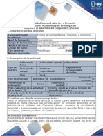 Guía Para El Desarrollo Del Componente Práctico - Unidad 1 Fase II- Planificación- Laboratorio 1