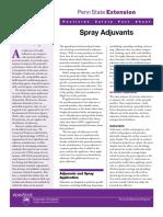 Spray Adjuvants