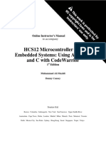 Solution Manual Hcs12 Microcontrollers and Embedded Systems 1st Edition Ali Mazidi