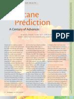 Hurricane Prediction A Century of Advances