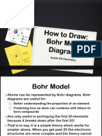 how to draw bohr model ppt