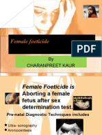 Female Foeticide Presentation