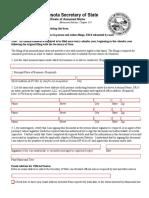 MN Assumed name Registration