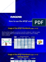 Guideline APQP Workbook Rev D