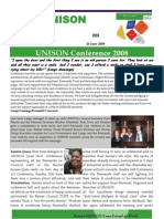 Barnet UNISON Voice  26  June 2008PDF version
