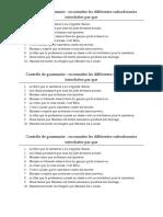 Contrôle de Grammaire PSR PSC
