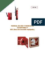 Manual de Uso y Manejo de Extintores y BIE