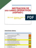 Programación ASF6501