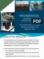 Clasificacion y Tipos de Pavimentos