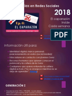 Tendencias Social Media - Redes Sociales - Cultura juvenil GenZ 2018