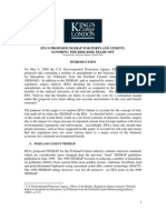 EPA - Kings College Report