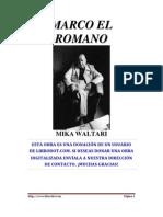 Waltari Mika - Marco El Romano