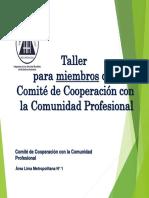 2-Taller Nacional Para Miembros CCP AREA 1 Resumido 2