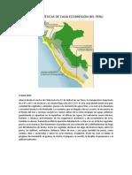 Características de Cada Ecorregión Del Peru