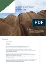 Geosoft Exploration Information Management Report 2015