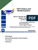 Gps Modernization 2008