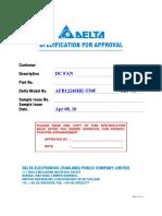 Ventilator AFB1224SHE