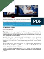 Mediante Campo Pagado, JOH Asegura Que Está Listo Para Arrasar en Elecciones de Noviembre