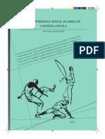A Performance Ritual Da Roda de Capoeira Angola