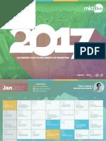 Calendario 2017 Mkt-ideas