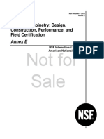 ANSI NSF 49 Anexo E