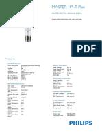 Lamp Master Hpi-t Plus 400w645 e40 32000 Lm
