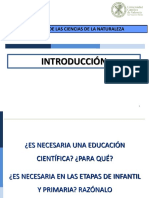 Tema 0 Introduccion a La Enseñanza de Las Ciencias 1