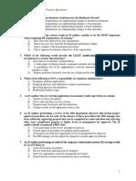 258775266 CISA Practice Questions IT Governance