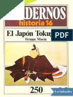 El Japon Tokugawa - Fermin Marin