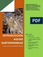 TRABAJO Aguas Subterraneas