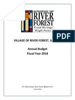 River Forest Final Budget Document_2018