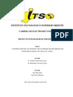 Proyecto III Final (Sistema de alarma via GSM)